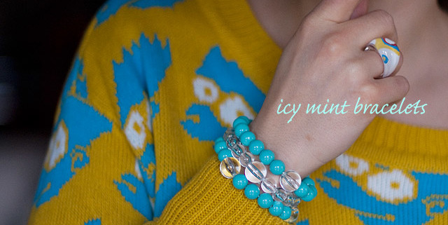 DIY Bracelets Out Of Second Hand Bead Necklaces