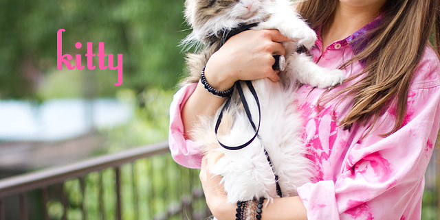 Dylon Flamingo Pink Tie-Dye Secondhand Shirt Upcycle DIY and my cat