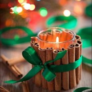 Christmas DIY: Cinnamon candles