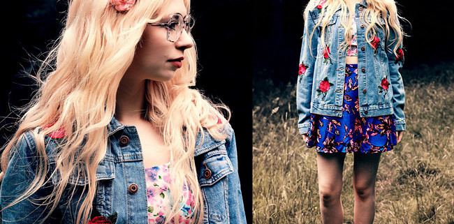Denim Jacket With Patches: Must-Have On My Fall DIY List