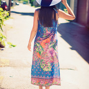 How To Wear 1970s Vintage Summer Dresses