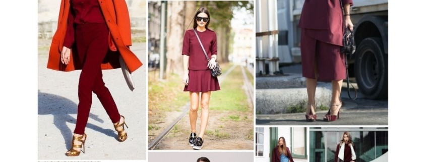 My Weekly Fashion Inspiration: Marsala, Controversial New Hue For 2015
