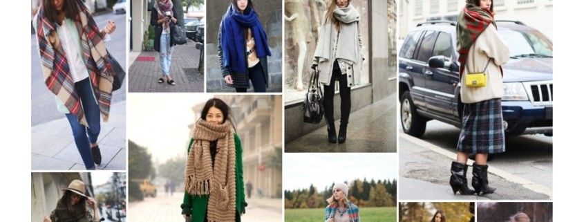 My Weekly Fashion Inspiration: 10 Oversized Scarf Outfits