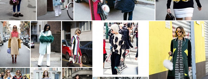 13 Street Fashion Outfits With Cute Fur Details From Milan Fashion Week 2015