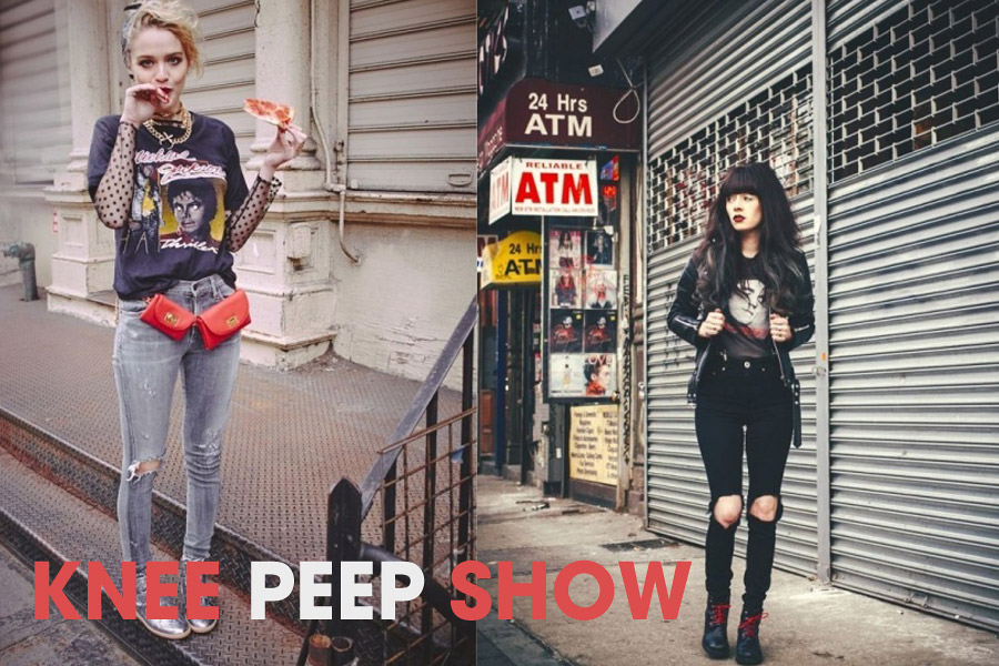 Knee Peep Show: 11 Ripped Knee Jeans Outfits