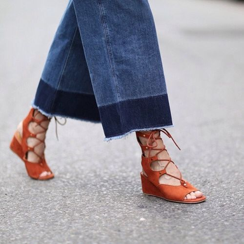 Frayed Hems Are The New Fringe For Denim: Jeans