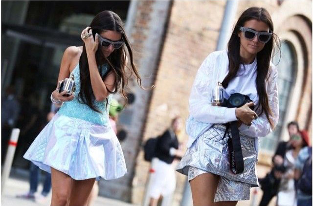 Sunglasses Trends 2015 Australia Fashion Week 2015 Sparkled sunnies