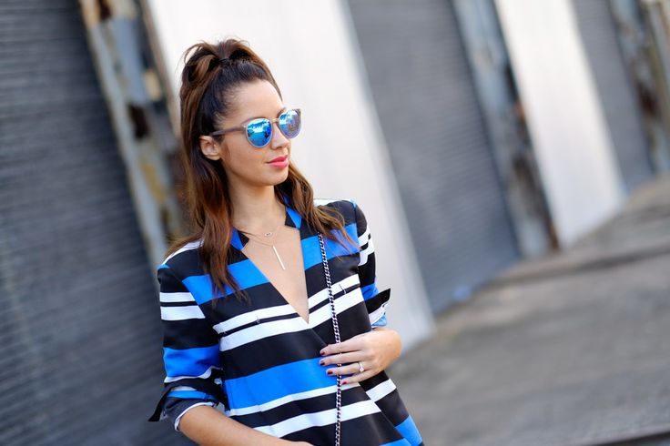 Sunglasses Trends 2015 Australia Fashion Week 2015 Mirrored sunnies