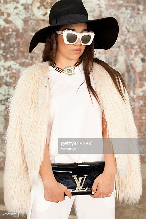 Sunglasses Trends 2015 Australia Fashion Week 2015 Cateye frames