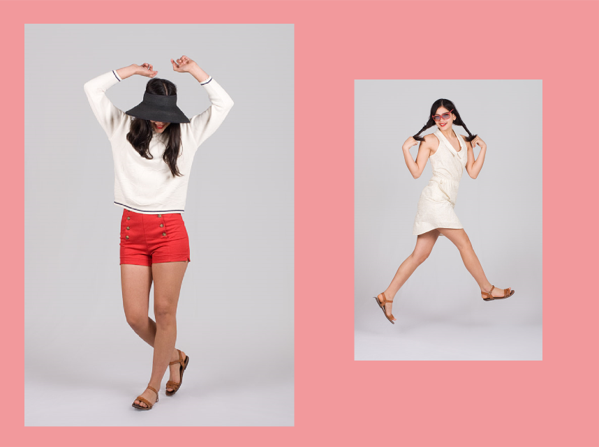Nautical Remix Summer Lookbook: Collaboration With Fripe Fabrique