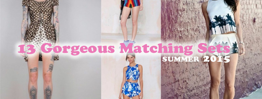 summer two piece Sets