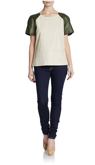 Contrast Sleeves t-shirts