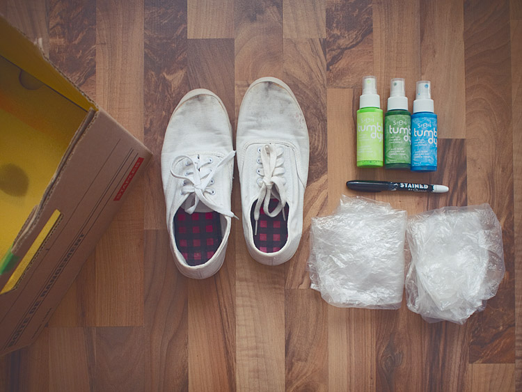 Pineapple Shoes DIY Supplies
