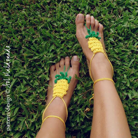 DIY Pineapple Shoes