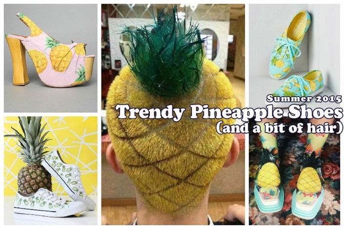 Summer 2015 Pineapple Shoes Inspo: From DIY To Buy